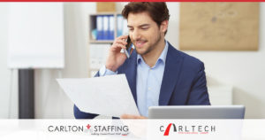carlton staffing communication with interviewees